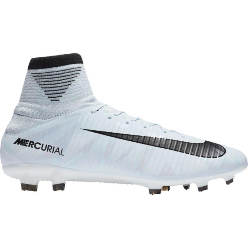 Nike Men S Mercurial Veloce Iii Df Cr7 Fg Soccer Cleats White Soccer Cleats Superfly Soccer Cleats Girls Soccer Cleats