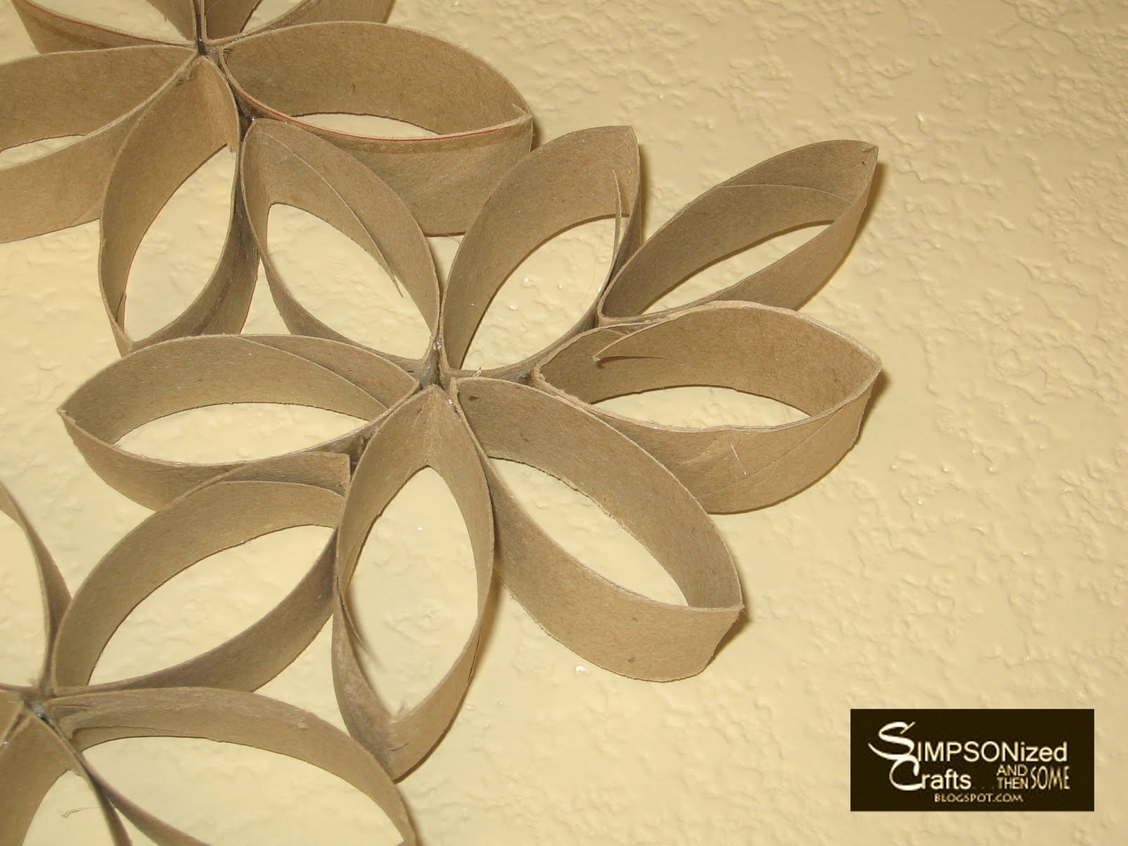 Paper Towel Roll Wall Art | Projects to Try | Pinterest | Paper ...
