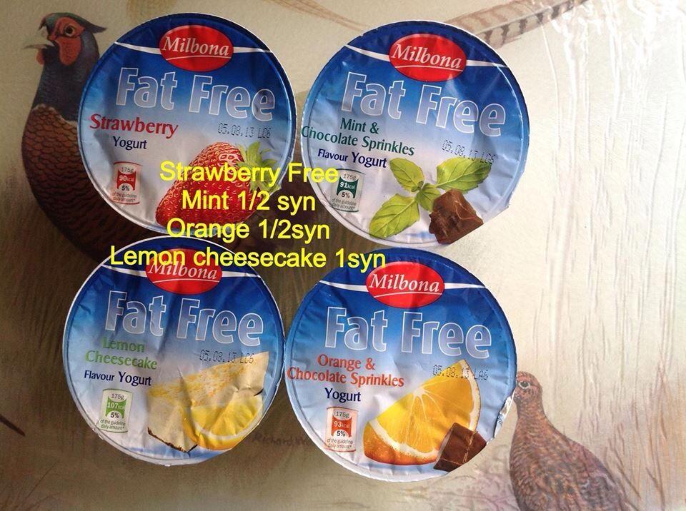 Yogurt Rice Cakes Syns