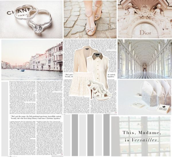"""""""``I don't consider myself a goody-goody, but I like to be perceived as classy.``"""" by kittycat-698 ❤ liked on Polyvore"""