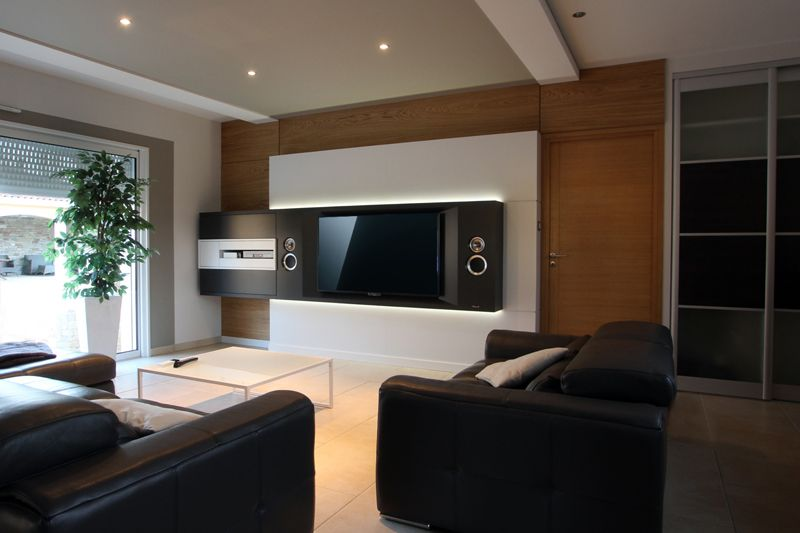 architecture interieur multim dia maison pinterest multim dia peintures murales et. Black Bedroom Furniture Sets. Home Design Ideas