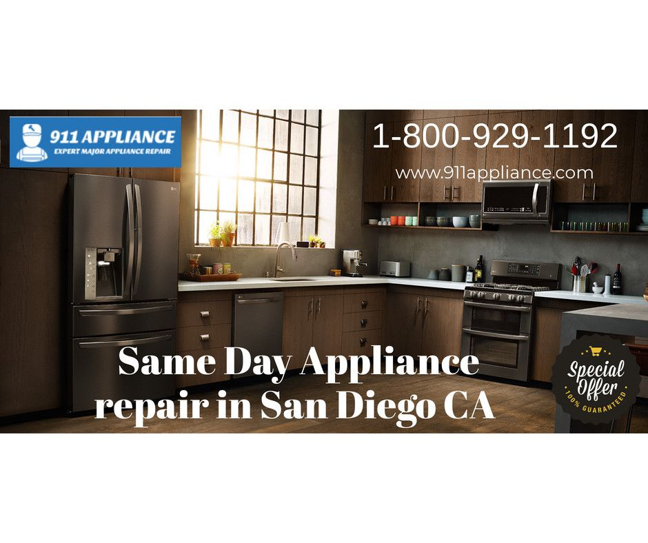 Appliance Repair In San Diego Ca For Most Appliances 39 95 House Calls Or Free With Repair B B B And Consumer Affairs Memb Appliance Repair Appliances Repair