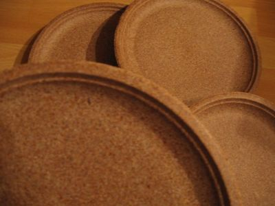 Eco Disposable Dishes Plates Bowls Trays Edible Bran Wicker Cardboard On The Grill Bandejas Descartaveis Descartaveis