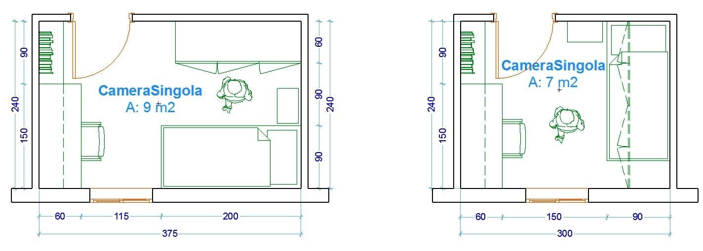 Misure Camera Da Letto.Le Misure Dell Uomo Nell Abitazione La Camera Da Letto Camera