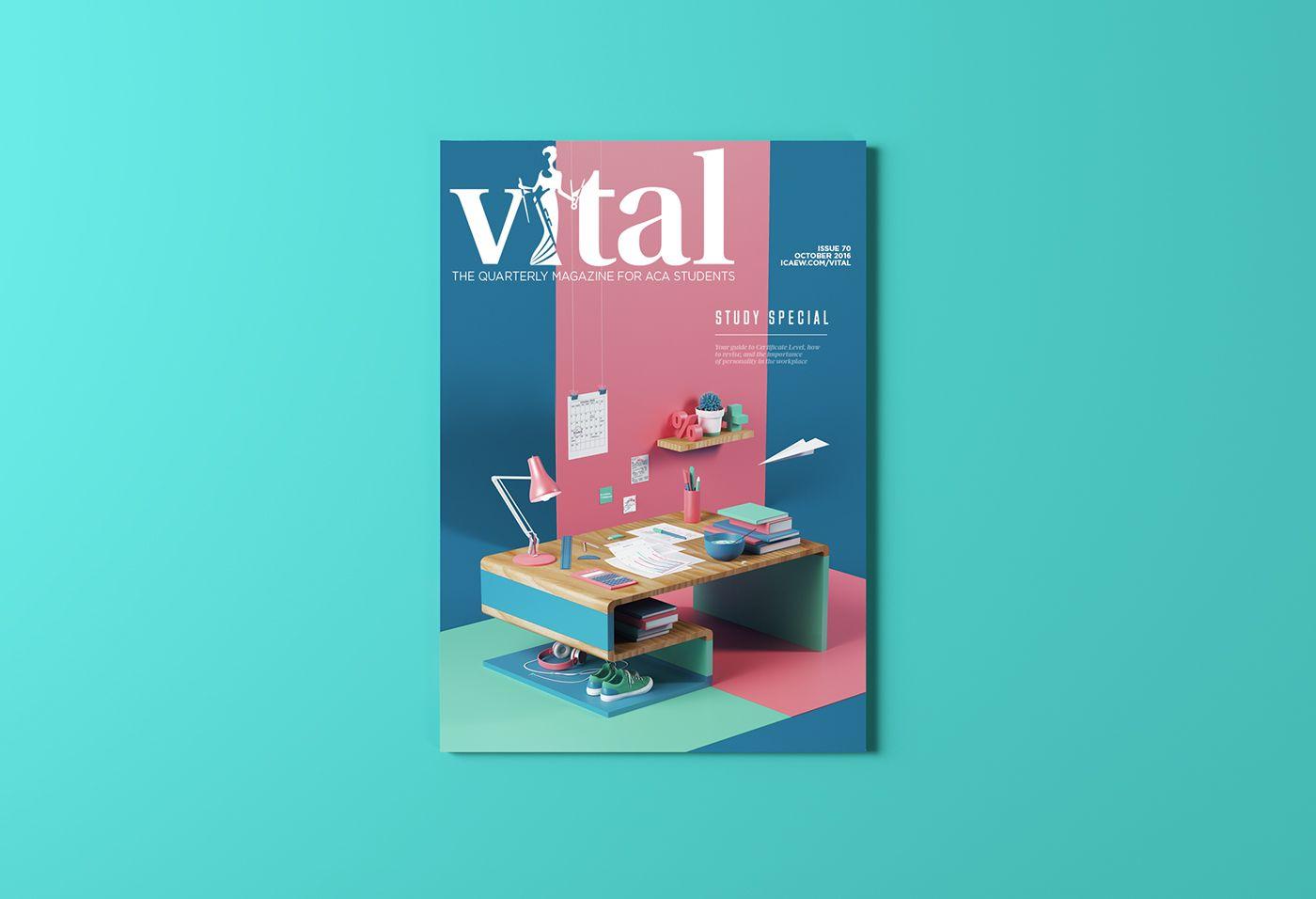 Vital Magazine on Behance