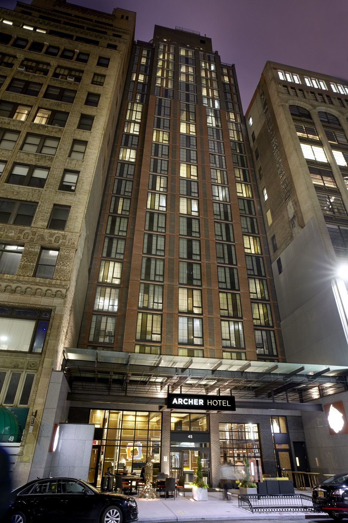 Archer Hotel New York Usa There S A New Kid On Archer Hotel Midtown Manhattan Hotels New York Travel