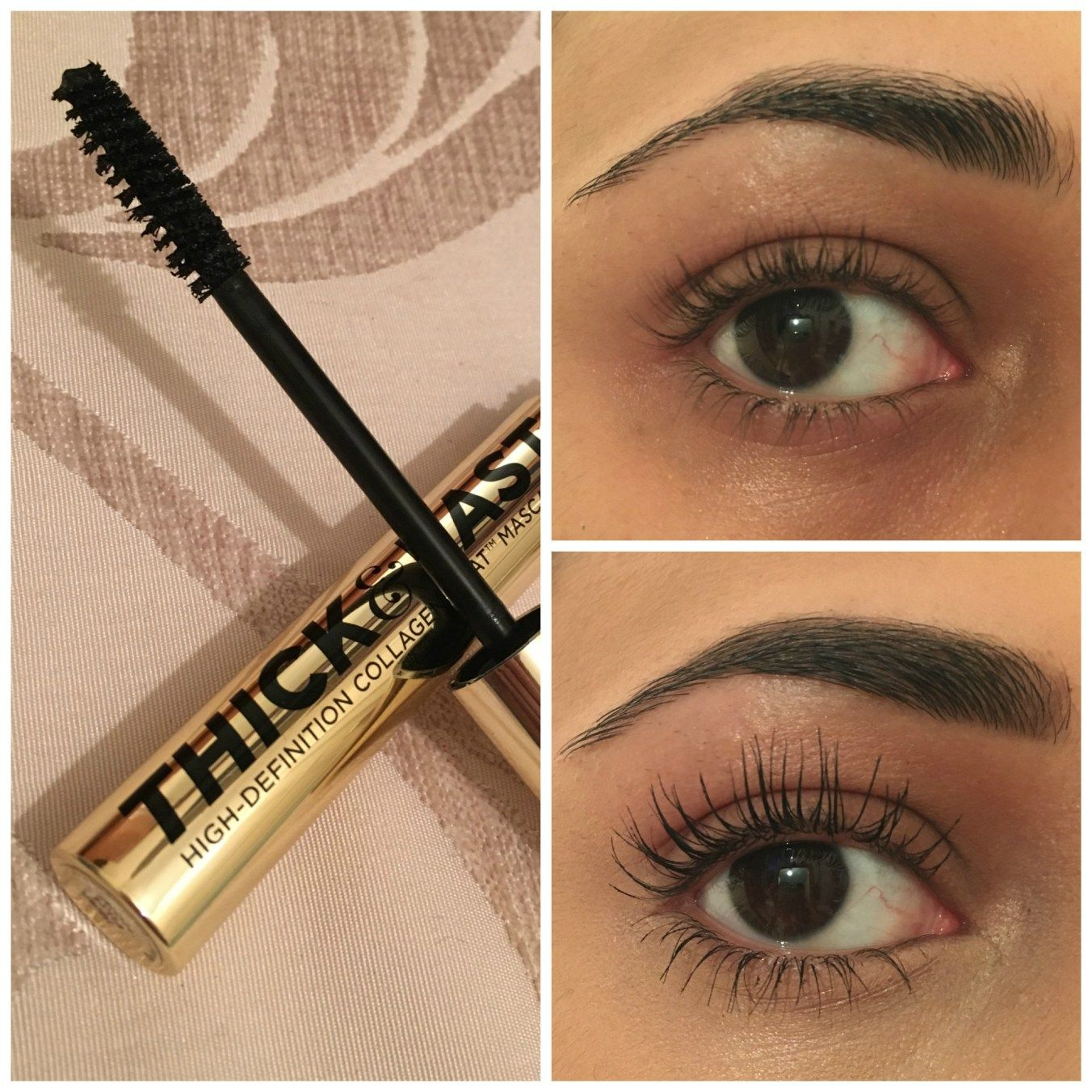 38883ab3e98 Soap & Glory Thick & Fast Lengthening Mascara Review - before and ...