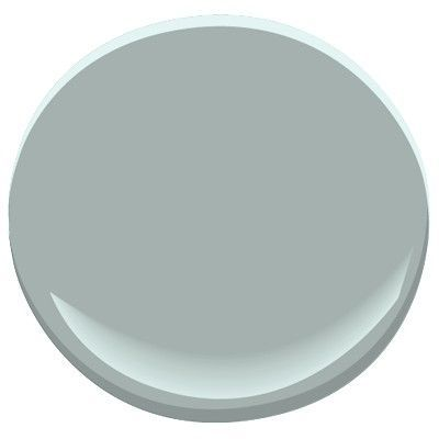 Soft blues have the ability to make a space feel tranquil. My favorite soft  blues are those that have a grayish undertone. In my opinion, they look  more sophisticated than that of a baby blue. Depending on the lighting and  the other colors in the room, some may come across more gray or green. With  that said, here are my favorite grayish blue paint colors.  Sherwin Williams- Sleepy Blue Benjamin Moore- Summer Shower Benjamin Moore-  Smoke Benjamin Moore- Yarmouth Blue Benjamin Moore…