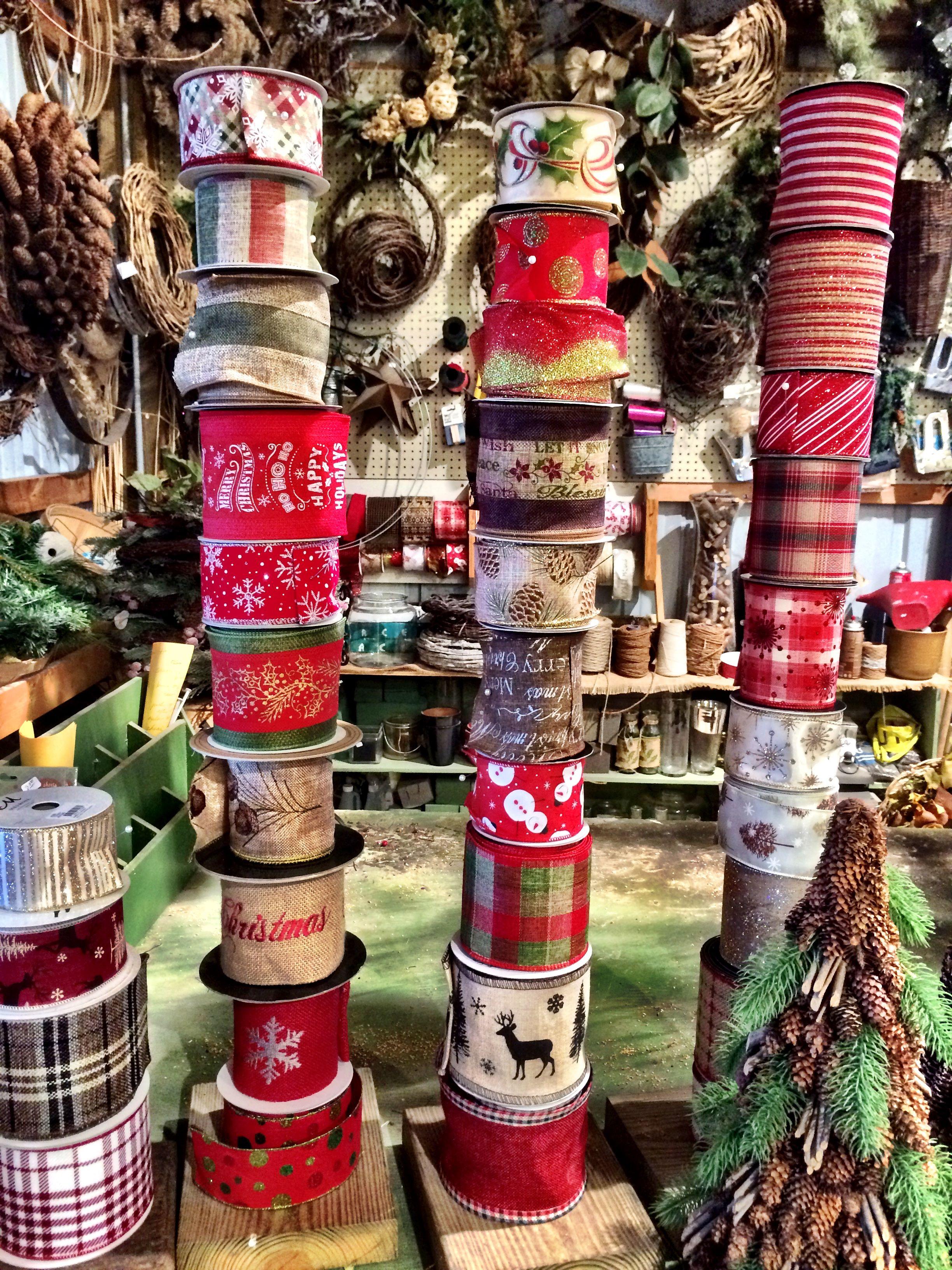 Beautiful Ribbon For Bows Country Christmas Holiday Decor Christmas Seasons