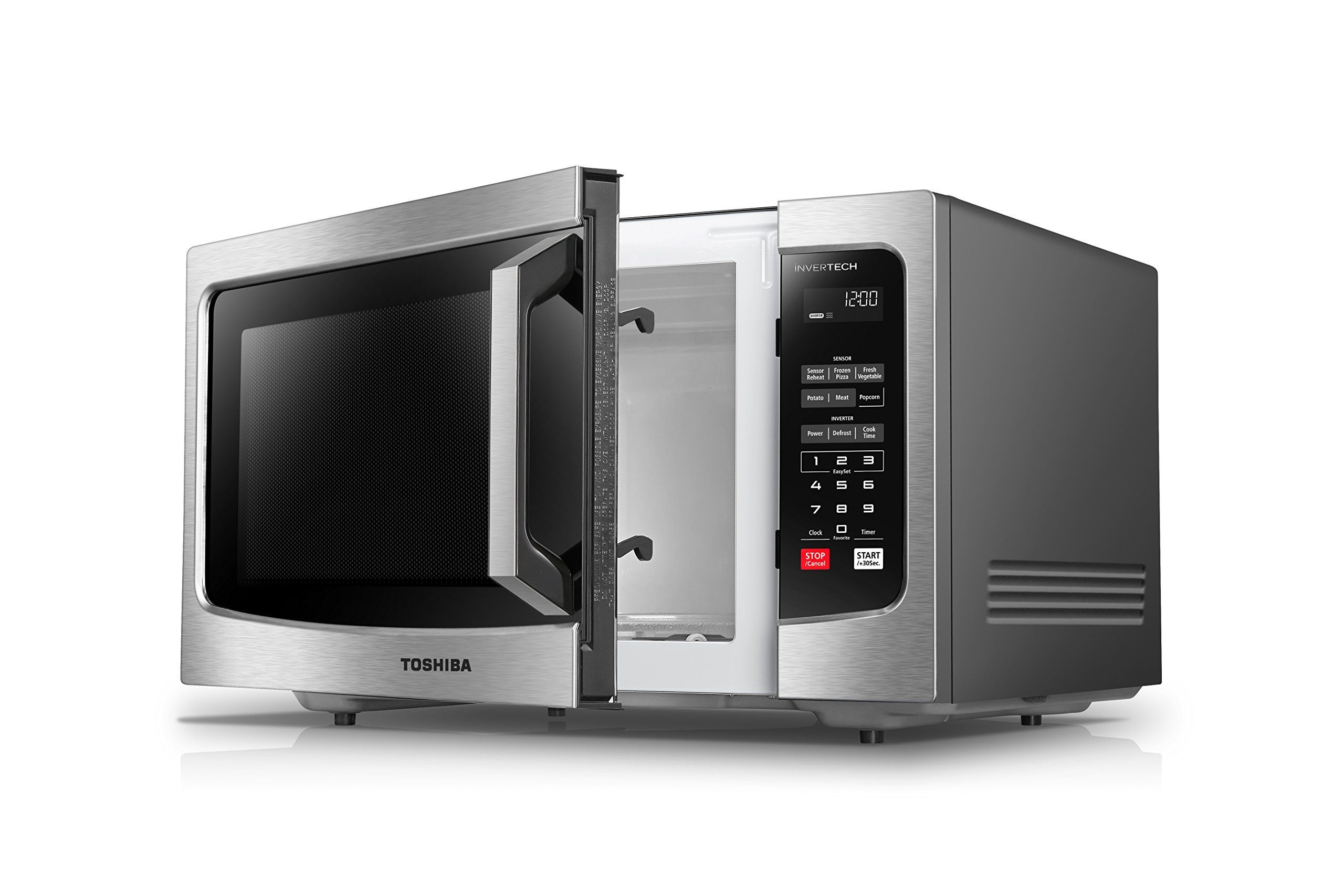 Toshiba Em245a5css Microwave Oven With Inverter Technology Lcd