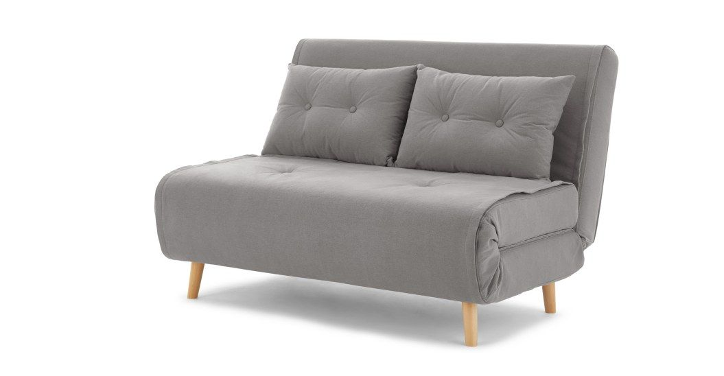 Sofa Cama Pequeno Haru Gris Nube In 2020 Small Chaise Sofa Small Sofa Sofa Bed Uk