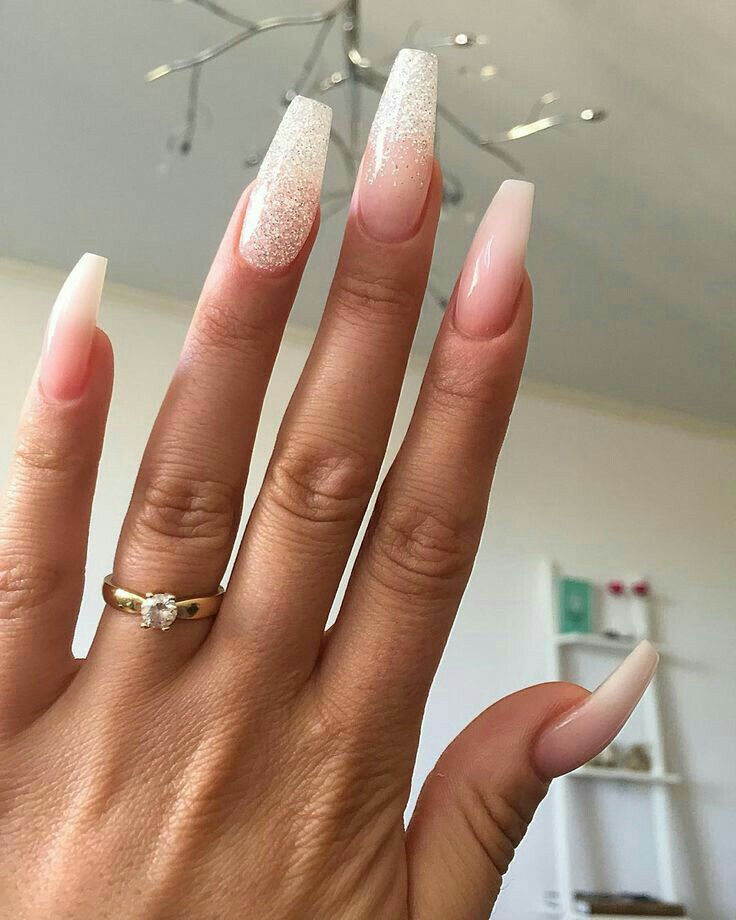 Natural Coffin Polygel Nails Coffin Nails Long Coffin Nails Designs