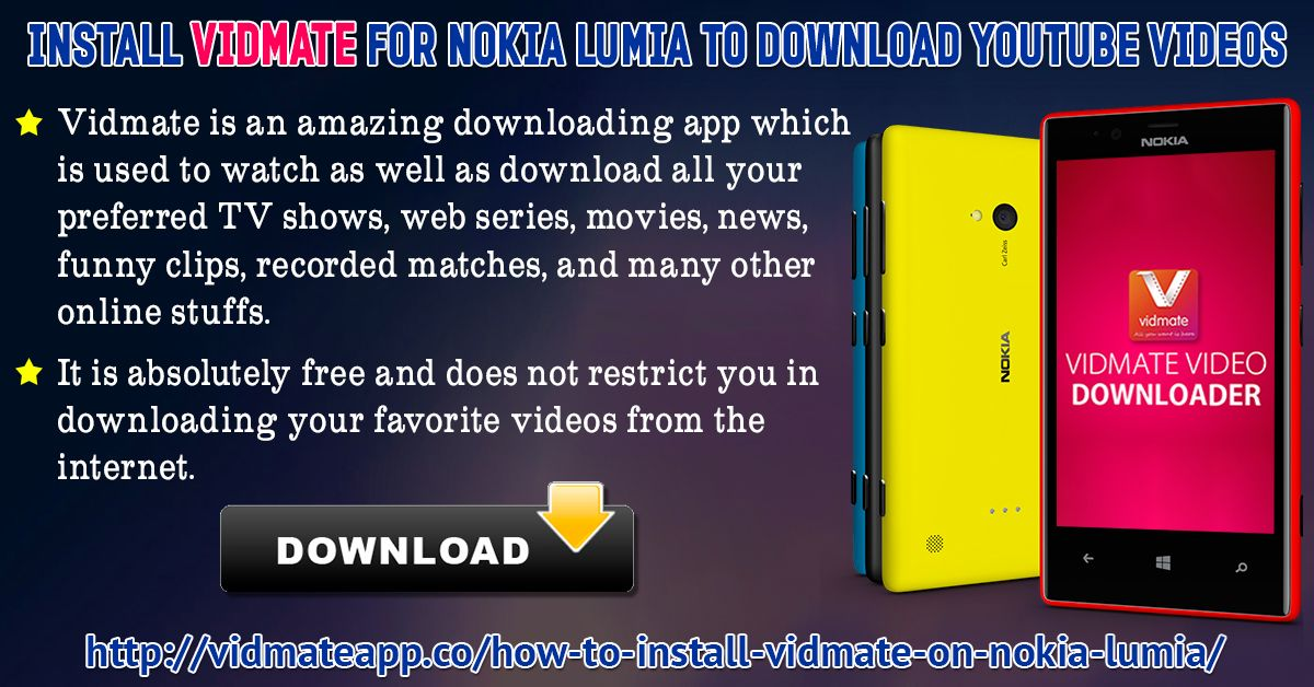 Install vidmate for nokia lumia to download youtube videos vidmate install vidmate for nokia lumia to download youtube videos vidmate is an amazing downloading app which ccuart Image collections