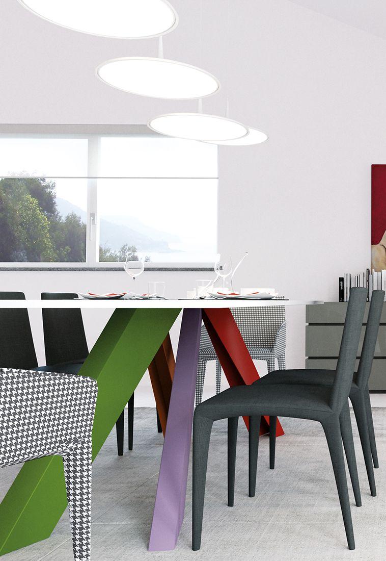 Arredamento Casa Moderno quando le gambe di un tavolo diventano arte pura