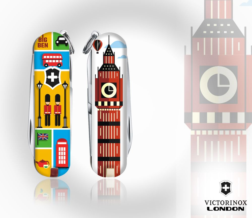 London Big Ben Victorinox 2018 Navajas Pocket Knife