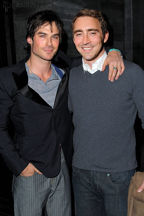 omg! first: LEE PACE WITH JARED LETO second:LEE PACE WITH ...