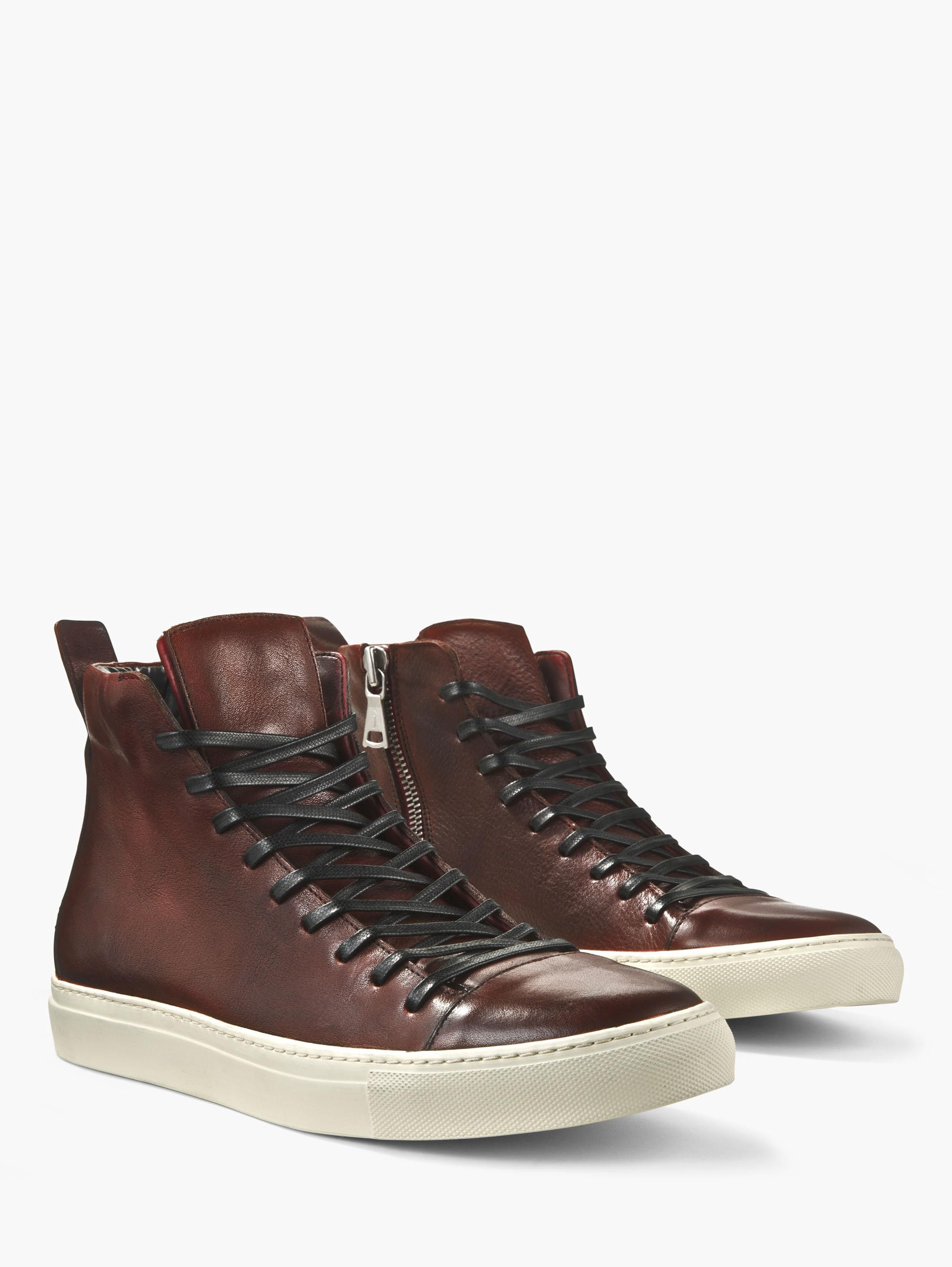 John Varvatos Reed Mid Top Sneaker