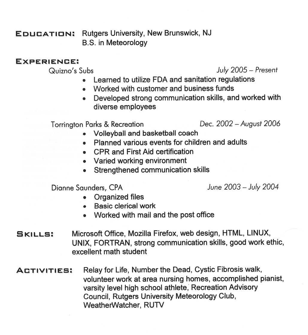 27 Scholarship Resume Samples for Getting the Real Scholarship ...