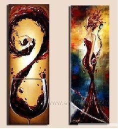Wine Art on Pinterest