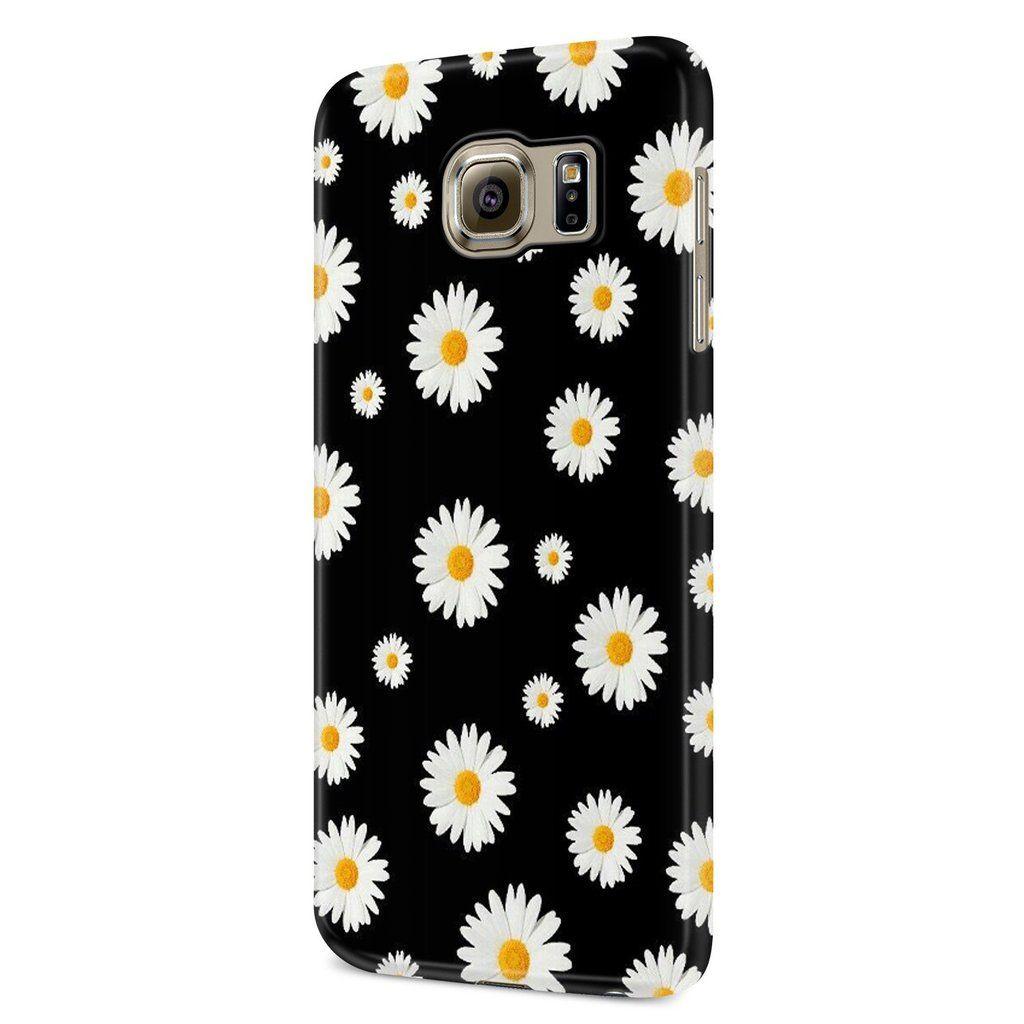 Black And White Daisy Wallpaper Samsung Galaxy S6 S6 Edge