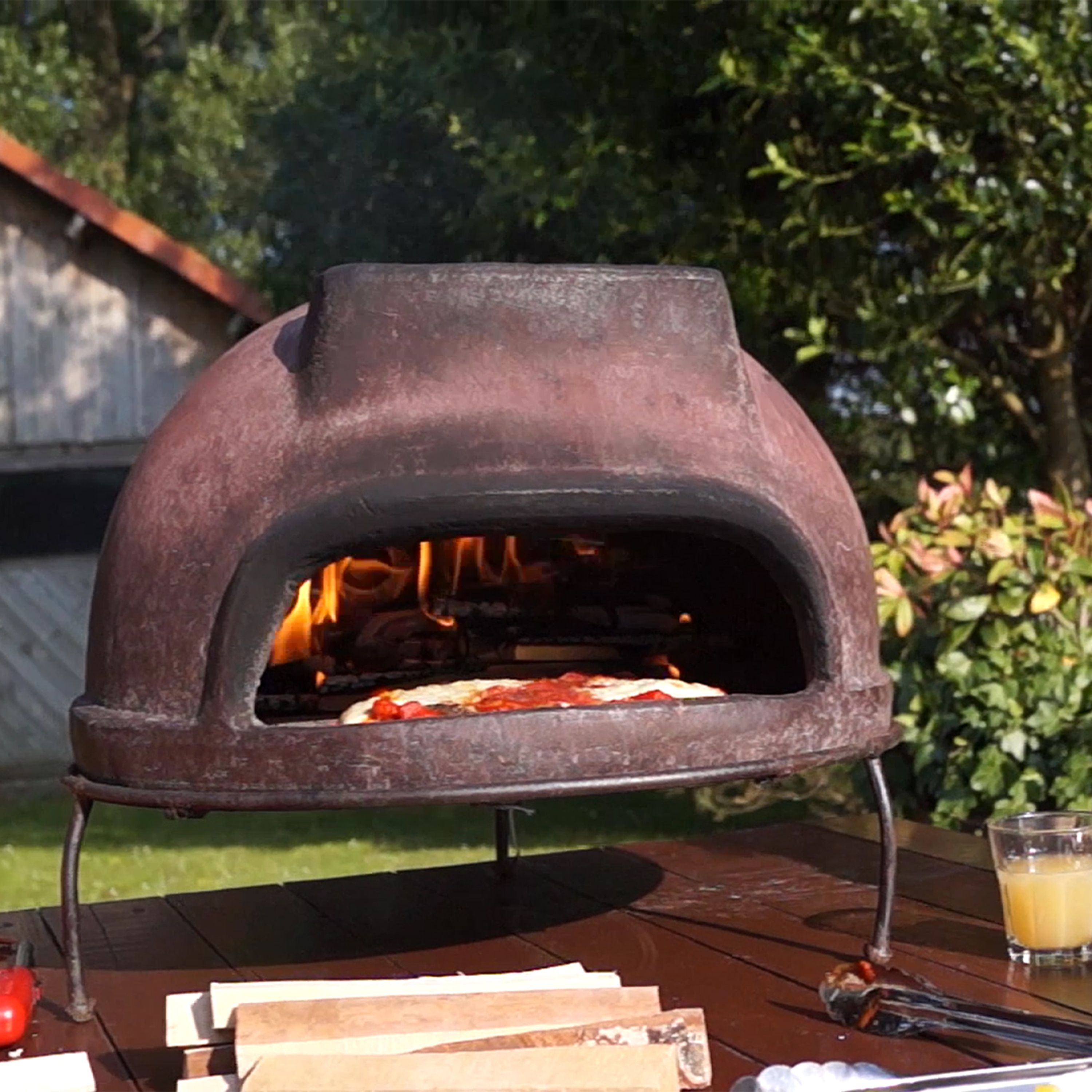 Create Wood Fired Pizzas At Home With Our Handmade