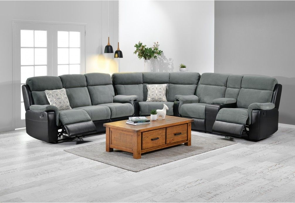 Rochelle Fabric Corner Suite Super Amart Furniture Lounge Lounge Sofa