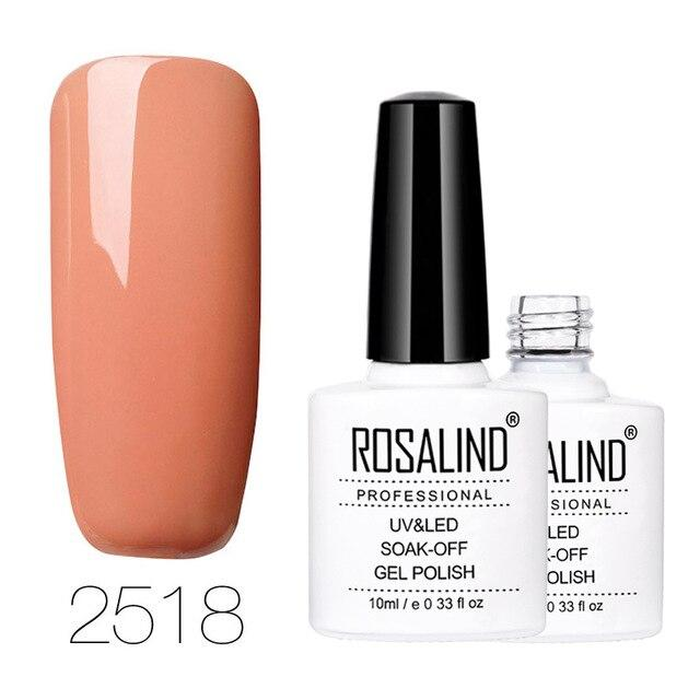 ROSALIND Gel 1S 10ML Farbserie Nagellack Semipermanenter UV-LED Nagellack Nagelgel-Lack zum Tränken   – Products