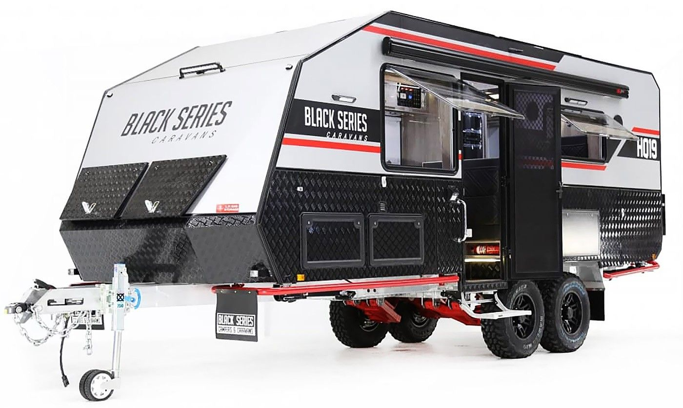 2020+ Black Series HQ19 in 2020 Travel trailer, Off road