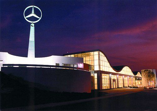 Tuscaloosa, Alabama (Vance) @ The Mercedes Benz Visitors Center @ The  Mercedes Plant
