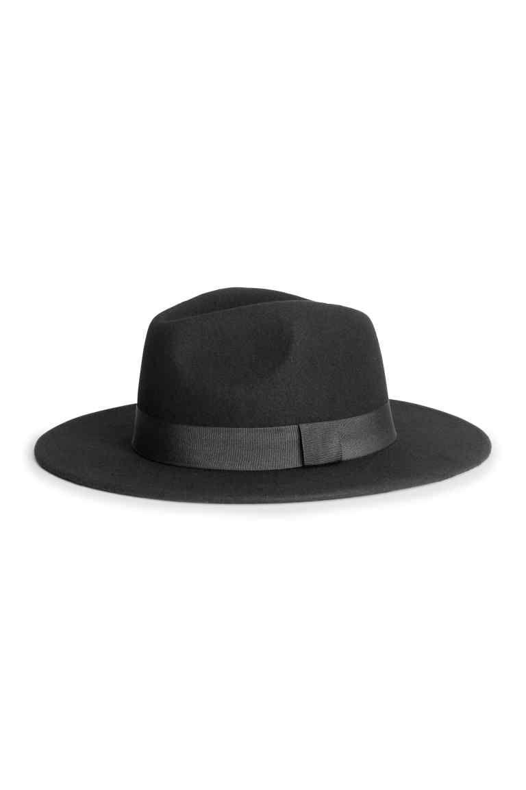 Sombrero de fieltro en lana  3958ffd3db8