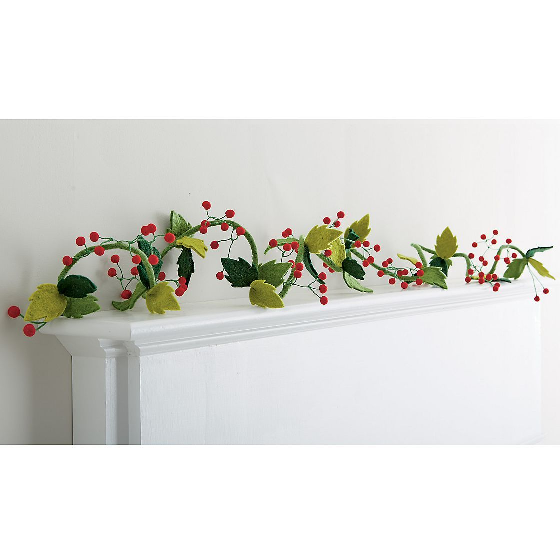 Felt Christmas Garland The Company Store Christmas Felt