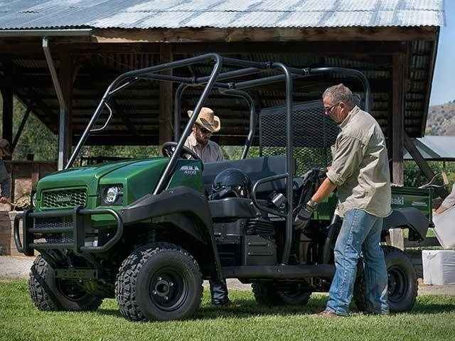 New 2015 Kawasaki Mule 4010 Trans4x4 ATVs For Sale in Tennessee. 2015 KAWASAKI Mule™ 4010 Trans4x4, Offering the best of both worlds, the Mule 4010 Trans4x4 Side x Side transforms from a two- to a four-seater perfect for the farm or trail! The need for a reliable vehicle that can multi-task has never been greater, and the Mule 4010 Trans4x4 is built to tackle any job, anywhere. When large amounts of supplies, gravel or grain need to be moved, the Mule 4010 Trans4x4 has the strength to make…