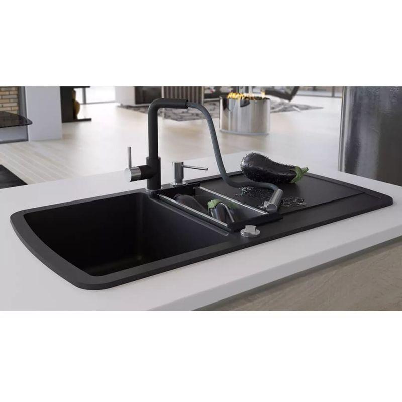 Evier 1 Bac In 2019 Granite Kitchen Sinks Granite Kitchen