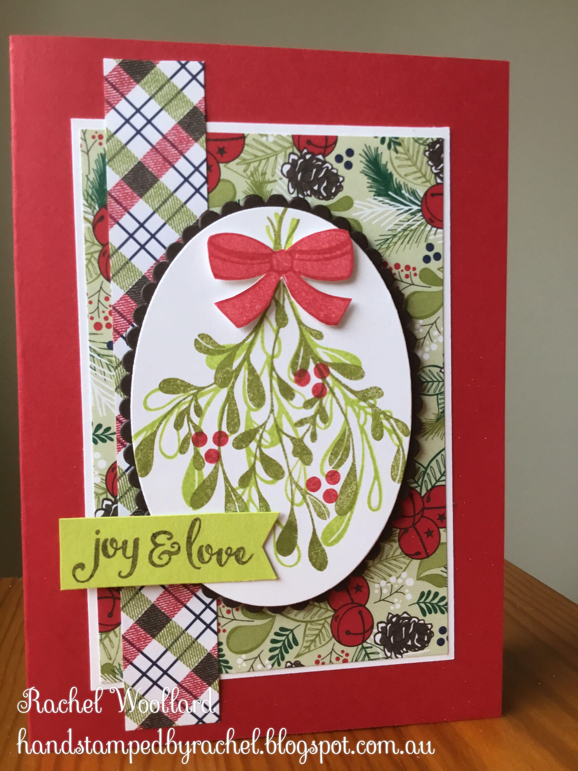 Under the Mistletoe DSP | Christmas Card Ideas for 2018 | Pinterest ...