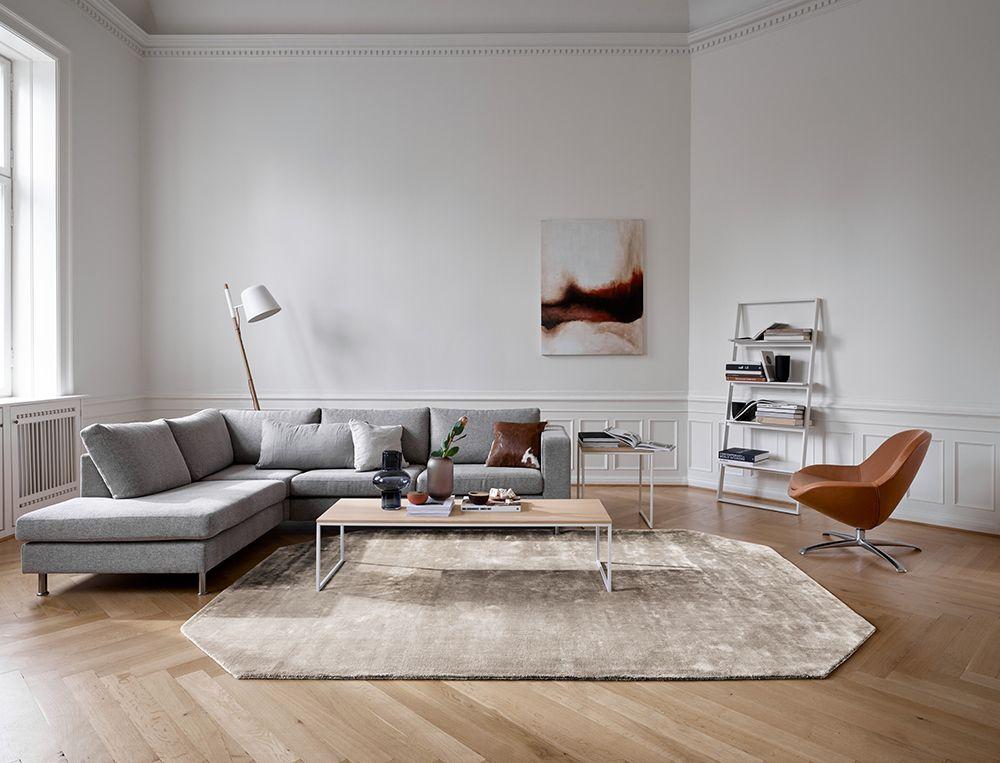 Indivi Grey Chaise Lounge Modern Designer Living Room Boconcept Sydney Living Room Modern Living Room Decor Modern Sofa Design