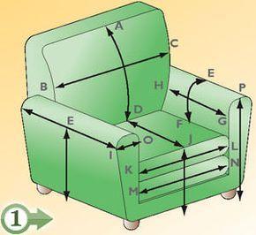 Rifoderare poltrone e divani cucito pinterest - Copridivano fai da te ...
