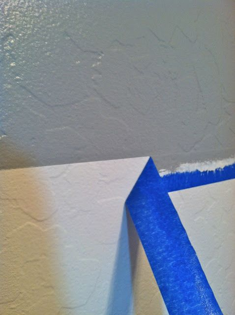 erin loves earl how to paint perfect stripes on textured walls
