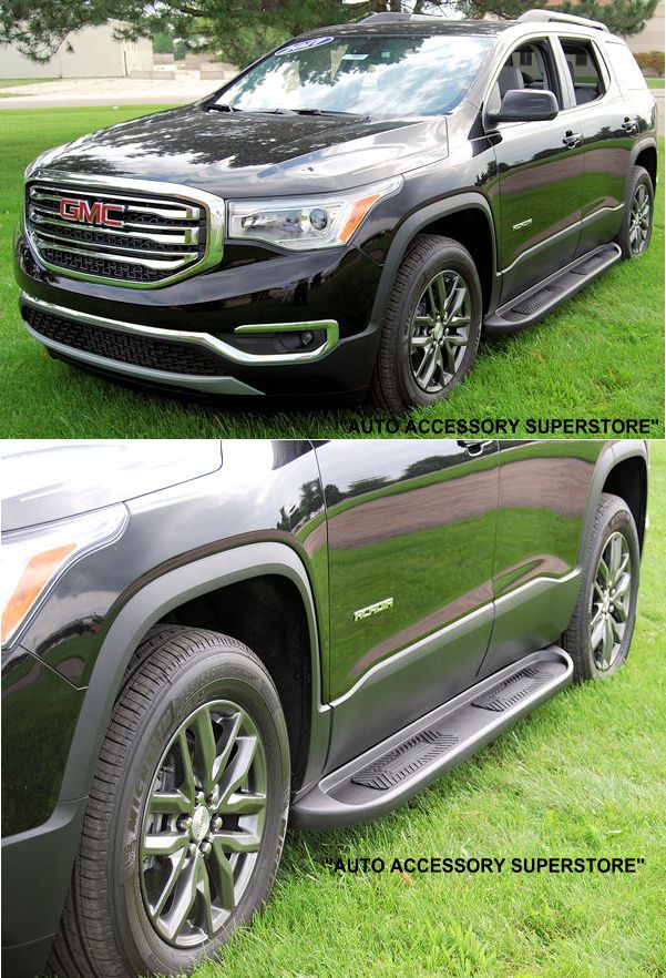 2017 Up Gmc Acadia Running Boards They Sure Do Look Sharp Gmc