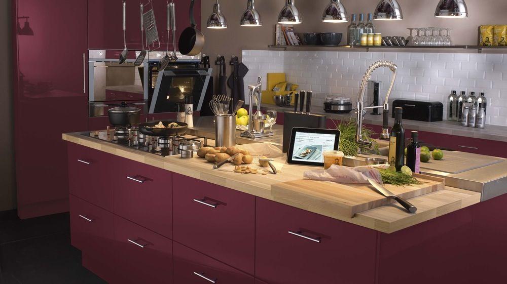 Astuces Pour Entretenir Un Plan De Travail En Bois Cuisine - Leroy merlin meuble bas cuisine pour idees de deco de cuisine