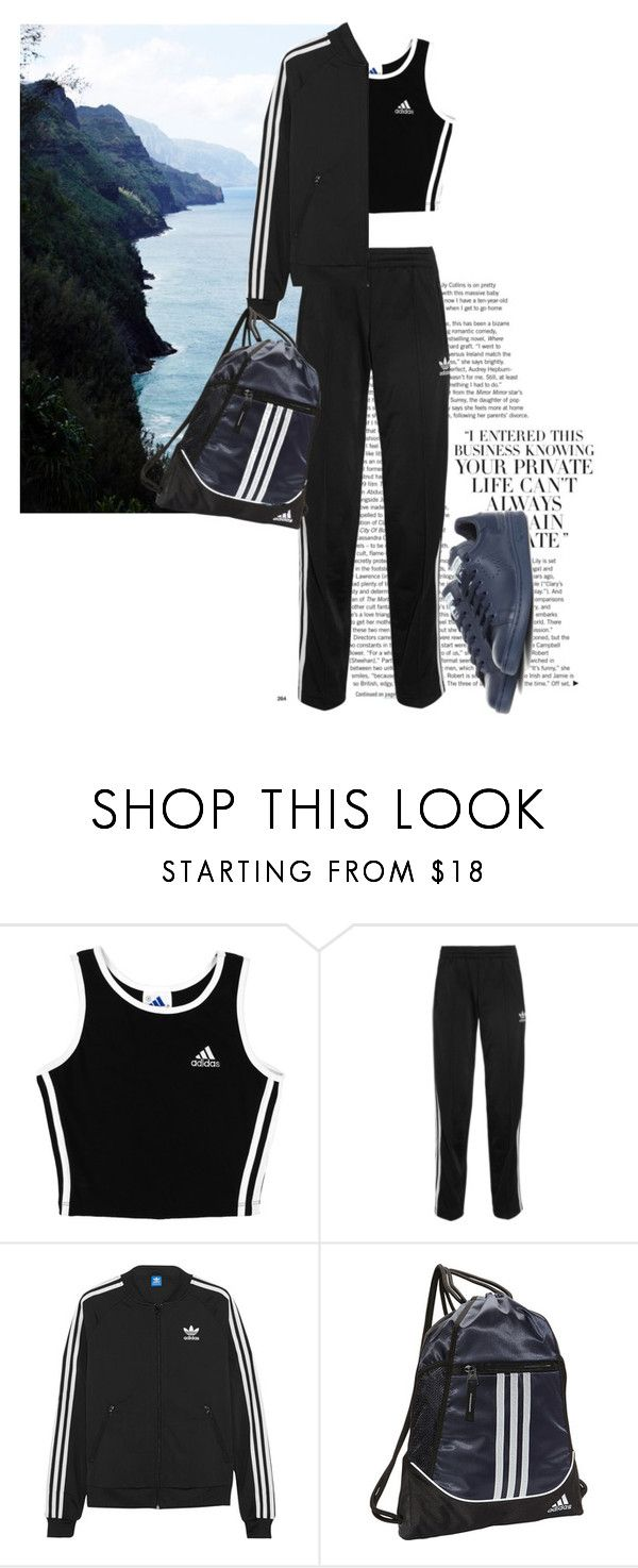"""""""Untitled #1400"""" by martso ❤ liked on Polyvore featuring мода, adidas и adidas Originals"""
