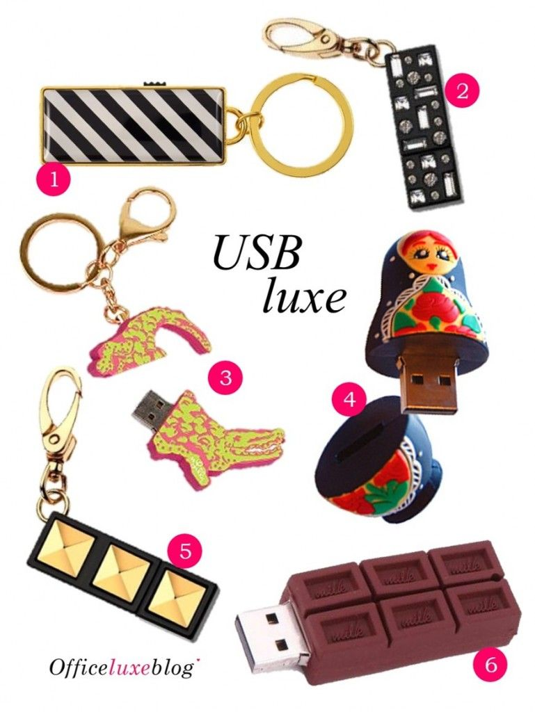 You Usb Cute Usb Drive Alternatives The Office Luxe Blog Cute Office Supplies Usb College Stationery