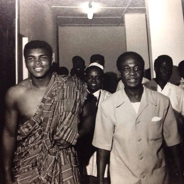 neoafrican:  Had to share this!  Muhammad Ali and Kwame Nkrumah circa 1964