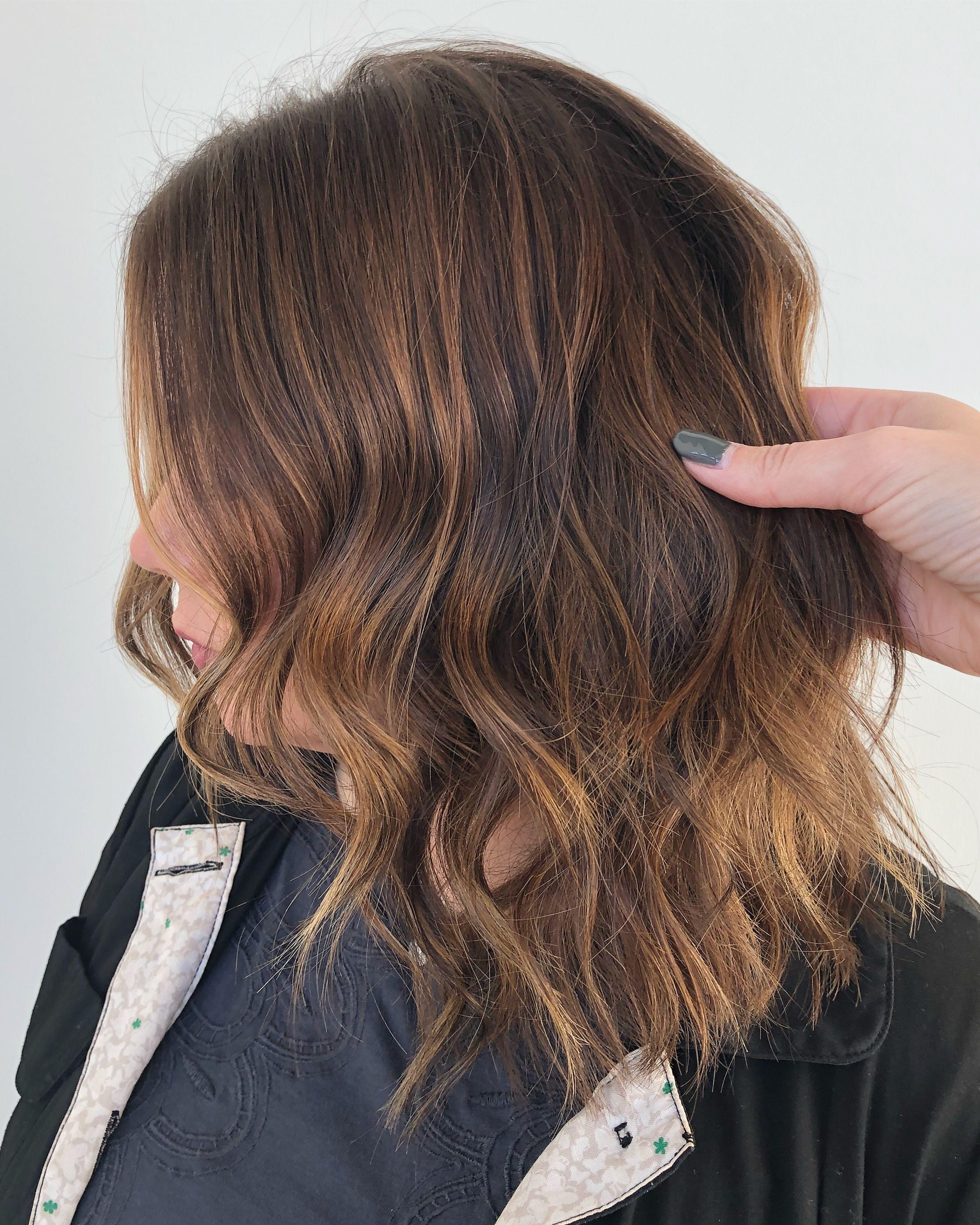 Dimensional Brunette Dark Balayage Brunette Balayage Hand Painted Hair Winter Hair Color Lkhairstudios Belleza