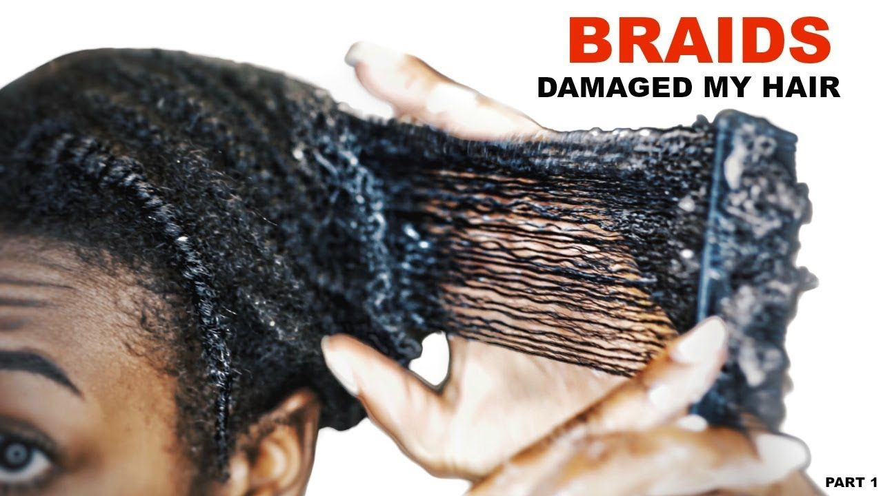 OLD Braids Take Down How to Safely Detangle MATTED