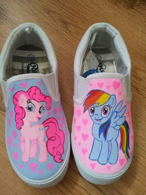 65197eaa7779f My little pony painted shoes | Chalupa Pinkie Pie Batman | My little ...