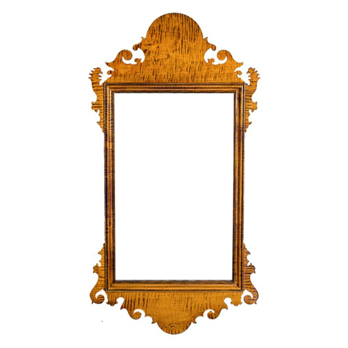 18th century antique reproduction  Mirrors Chippendale Mirror