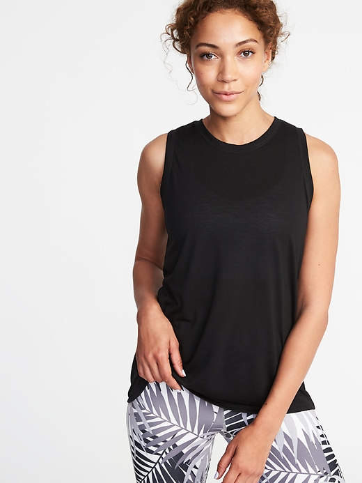 1d693932d3 Old Navy Relaxed Mesh-Back Fly-Away Tank for Women | Products | Tops ...