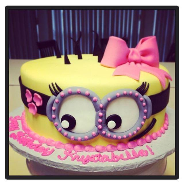 Minion Cake Cakes Pinterest Minion Cakes Cake And Birthdays