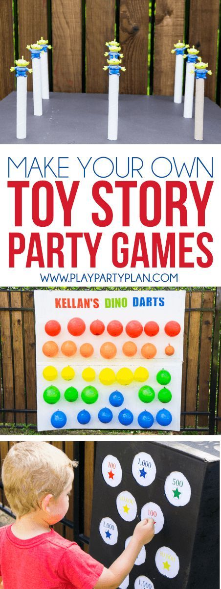 Make Your Own Toy Story Midway Mania Games At Home With This Fun Outdoor  Games Tutorial