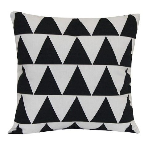 Outdoor Pillow Black Triangle Room Essentials Home Patio